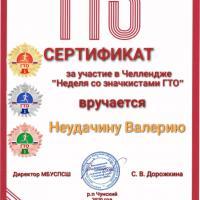 Информация о проведении Челленджа «Неделя со значкистами ГТО»